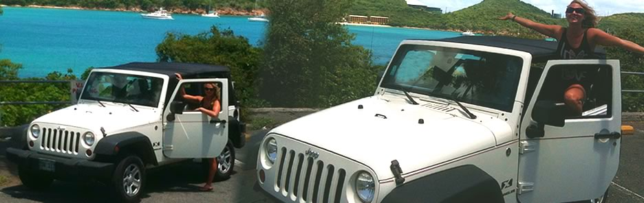 Jeep Rentals in St. Thomas USVI