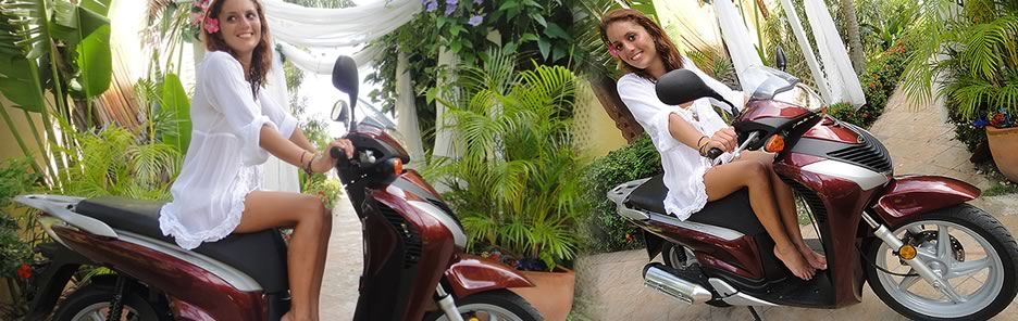 Rent a Scooter in St. Thomas USVI