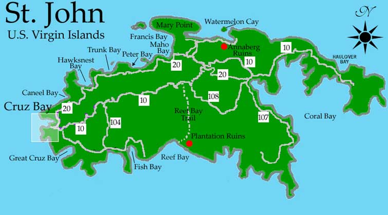 Rent A Motion We Out Scooters Jeeps Motorcycles Jetskis: Map Of St Thomas Us Virgin Islands At Infoasik.co